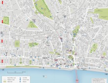 Myhotel street map of Brighton